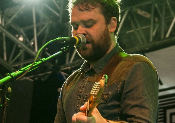 Frightened Rabbit på scenen fra NorthSide Festival 2013. Foto: